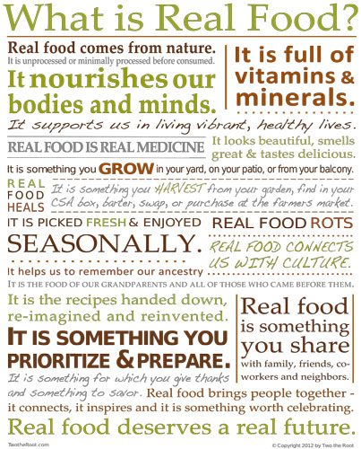 Real-Food-Poster